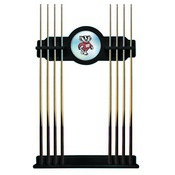 Wisconsin Badger Cue Rack by Holland Bar Stool
