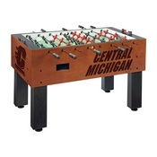 Central Michigan Foosball Table By Holland Bar Stool Co.