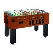 Edmonton Oilers Foosball Table By Holland Bar Stool Co.