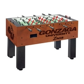 Gonzaga Foosball Table By Holland Bar Stool Co.