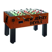 New Jersey Devils Foosball Table By Holland Bar Stool Co.