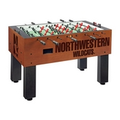 Northwestern Foosball Table By Holland Bar Stool Co.