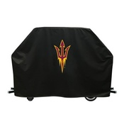 Arizona State Grill Cover With Pitchfork Logo By Hbs