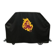 Arizona State Grill Cover With Sparky Logo By Hbs