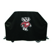 Wisconsin Badger Grill Cover by HBS