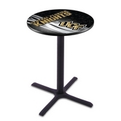 L211 - Black Wrinkle Central Florida Pub Table by Holland Bar Stool Co.