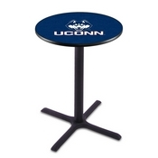 L211 - Black Wrinkle Connecticut Pub Table by Holland Bar Stool Co.