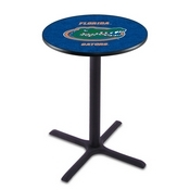 L211 - Black Wrinkle Florida Pub Table by Holland Bar Stool Co.