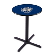 L211 - Black Wrinkle Georgetown Pub Table by Holland Bar Stool Co.
