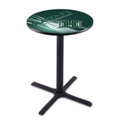 L211 - Black Wrinkle Hawaii Pub Table by Holland Bar Stool Co.