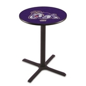 L211 - Black Wrinkle James Madison Pub Table by Holland Bar Stool Co.