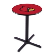 L211 - Black Wrinkle Louisville Pub Table by Holland Bar Stool Co.