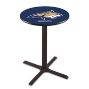 L211 - Black Wrinkle Montana State Pub Table by Holland Bar Stool Co.