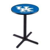 L211 - Black Wrinkle Kentucky UK Pub Table by Holland Bar Stool Co.