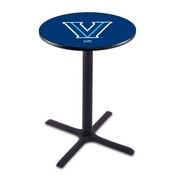 L211 - Black Wrinkle Villanova Pub Table by Holland Bar Stool Co.