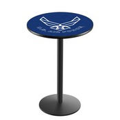 L214 - U.S. Air Force Pub Table by Holland Bar Stool Co.