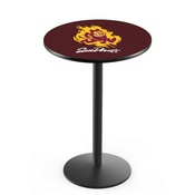 L214 - Arizona State Pub Table with Sparky Logo by Holland Bar Stool Co.