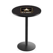 L214 - U.S. Army Pub Table by Holland Bar Stool Co.