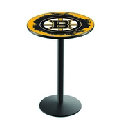 L214 - Boston Bruins Pub Table by Holland Bar Stool Co.