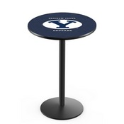 L214 - Brigham Young Pub Table by Holland Bar Stool Co.