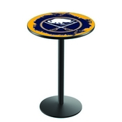 L214 - Buffalo Sabres Pub Table by Holland Bar Stool Co.
