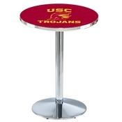 L214 - USC Trojans Pub Table by Holland Bar Stool Co.