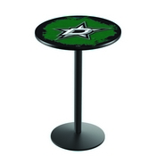 L214 - Dallas Stars Pub Table by Holland Bar Stool Co.