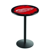 L214 - Detroit Red Wings Pub Table by Holland Bar Stool Co.