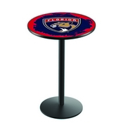 L214 - Florida Panthers Pub Table by Holland Bar Stool Co.