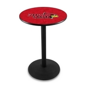 L214 - Illinois State Pub Table by Holland Bar Stool Co.