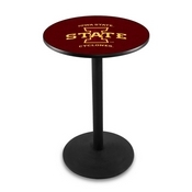 L214 - Iowa State Pub Table by Holland Bar Stool Co.