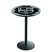 L214 - Los Angeles Kings Pub Table by Holland Bar Stool Co.