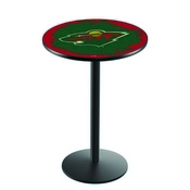 L214 - Minnesota Wild Pub Table by Holland Bar Stool Co.