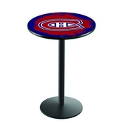 L214 - Montreal Canadiens Pub Table by Holland Bar Stool Co.