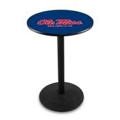 L214 - Ole' Miss Pub Table by Holland Bar Stool Co.