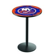 L214 - New York Islanders Pub Table by Holland Bar Stool Co.