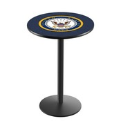 L214 - U.S. Navy Pub Table by Holland Bar Stool Co.