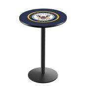 L214 - U.S. Navy Pub Table by Holland Bar Stool Co.