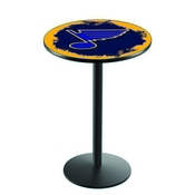 L214 - St Louis Blues Pub Table by Holland Bar Stool Co.