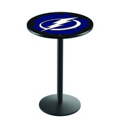 L214 - Tampa Bay Lightning Pub Table by Holland Bar Stool Co.