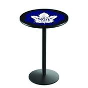 L214 - Toronto Maple Leafs Pub Table by Holland Bar Stool Co.