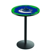L214 - Vancouver Canucks Pub Table by Holland Bar Stool Co.