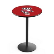 L214 - Wisconsin Badger Pub Table by Holland Bar Stool Co.