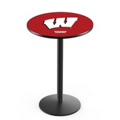 L214 - Wisconsin W Pub Table by Holland Bar Stool Co.