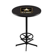 L216 - U.S. Army Pub Table by Holland Bar Stool Co.