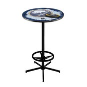 L216 - Buffalo Sabres Pub Table by Holland Bar Stool Co.