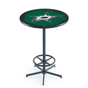 L216 - Dallas Stars Pub Table by Holland Bar Stool Co.