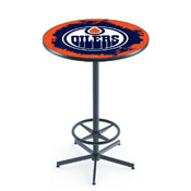 L216 - Edmonton Oilers Pub Table by Holland Bar Stool Co.
