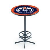 L216 - Edmonton Oilers Pub Table by Holland Bar Stool Co.