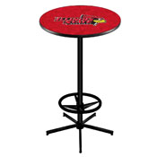 L216 - Illinois State Pub Table by Holland Bar Stool Co.